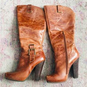 Jessica Simpson Hosana leather boots
